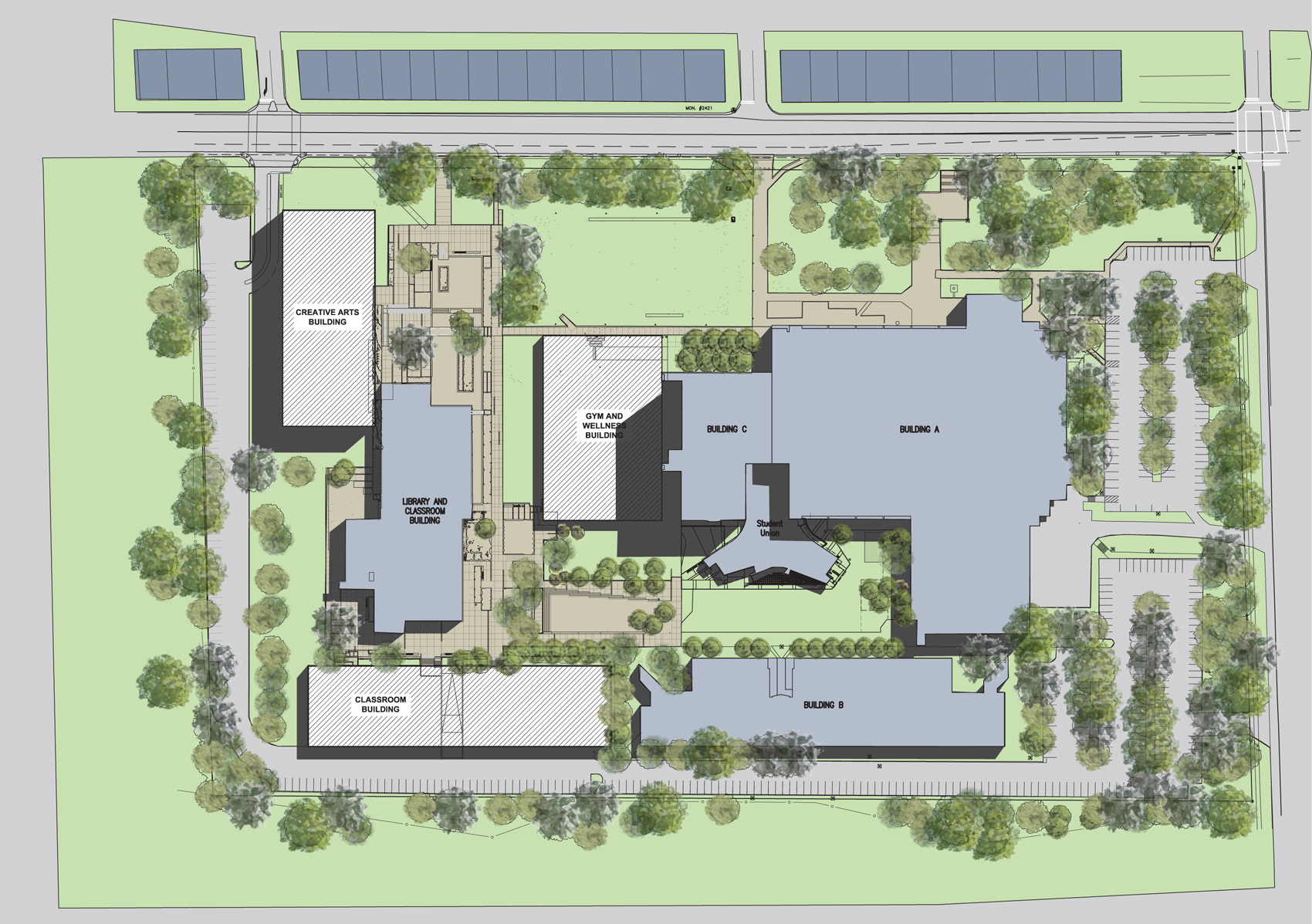 Langara campus facilities facilities master plan for Planner site